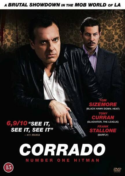 Corrado, No. 1 Hitman, DVD