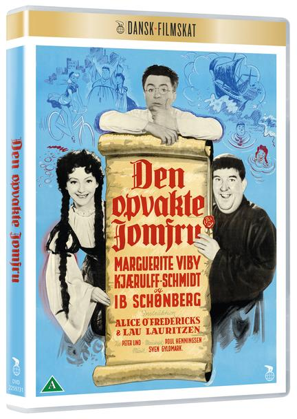 Den Opvakte Jomfru, Dansk Filmskat, DVD, Film, Movie