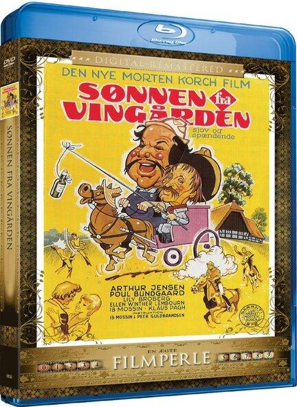 Sønnen fra Vingården, Bluray, Movie, Film