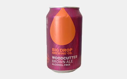 Woodcutter - Alkoholfri Brown Ale fra Big Drop