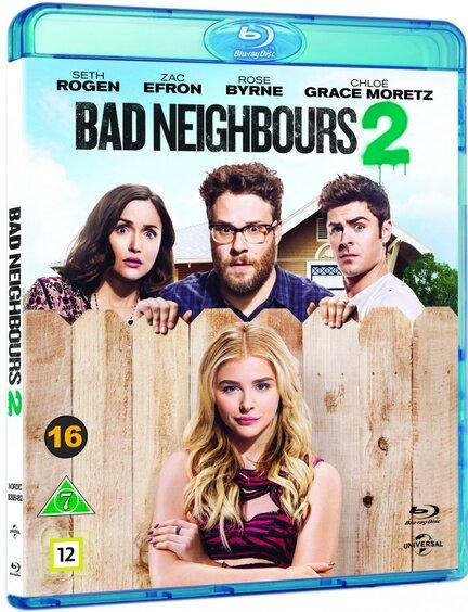 Bad Neighbours 2, Bluray