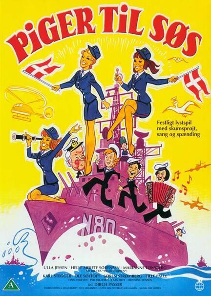 Piger til søs, DVD