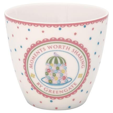 GreenGate Latte cup Tenna white