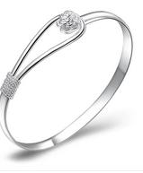 Sølv armbånd Rose