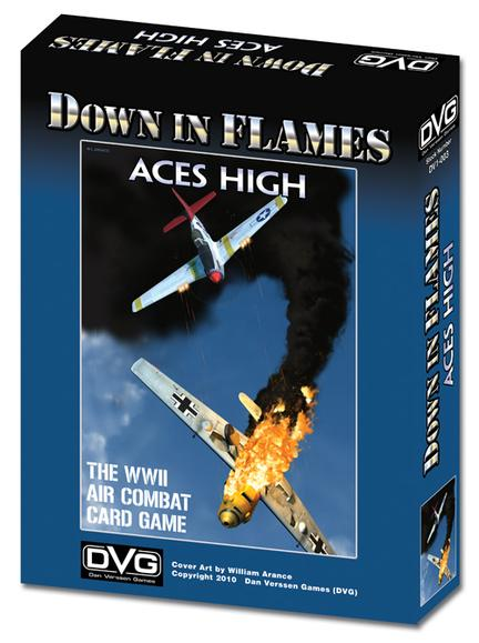 Down in flames Aces High