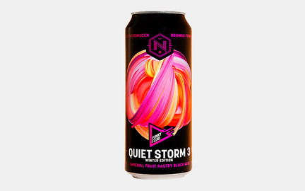 Quiet Storm 3 - Imperial Fruit Pastry Black Gose fra Funky Fluid