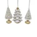 Juletræer slik/kage til ophæng - 2124082