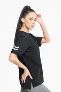 Bolt kvinde T-shirts sort siden pic