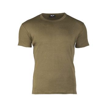 Mil-tec - T-shirt Slank Pasform (Oliven)