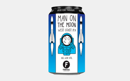 Man on the Moon - West Coast IPA fra Frontaal