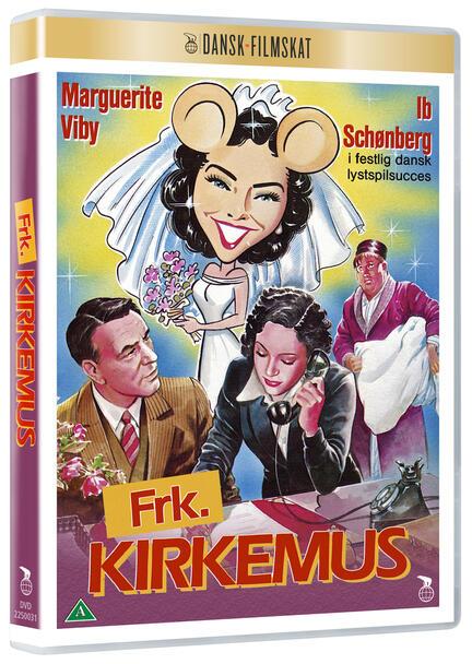 Frøken kirkemus, Frk. Kirkemus, Dansk Filmskat, DVD Film, Movie