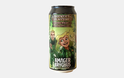 Brewers Playtime Like Mary - Kölsch style ale fra Amager Bryghus