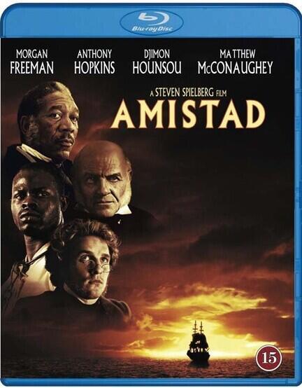 Amistad, Bluray, Stephen Spielberg, Movie