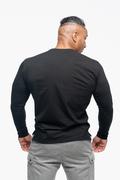 Bolt Langærmet T-shirt Sort Ryg