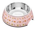 madskål, pink madskål, lyserød madskål, madskål til hund, mad skål