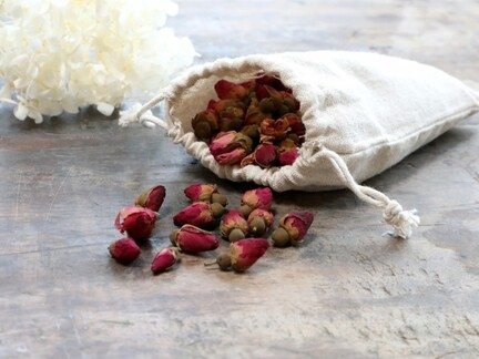 tørret rose potpourri fra Chic Antique