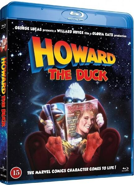 Howard the Duck, Bluray, Movie