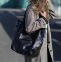 highclass-læder-dametaske