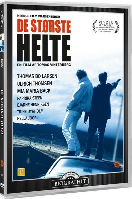 De største helte, DVD, Film, Movie, Thomas Vinterberg,
