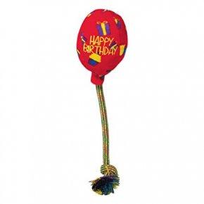 KONG-hunde-trække-legetøj-fødselsdagsballon-bamse