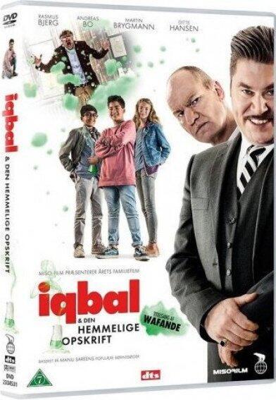 Iqbal og den hemmelige opskrift, DVD
