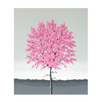 maleri lyserød