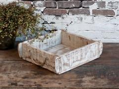 Gl murstensform antique hvid
