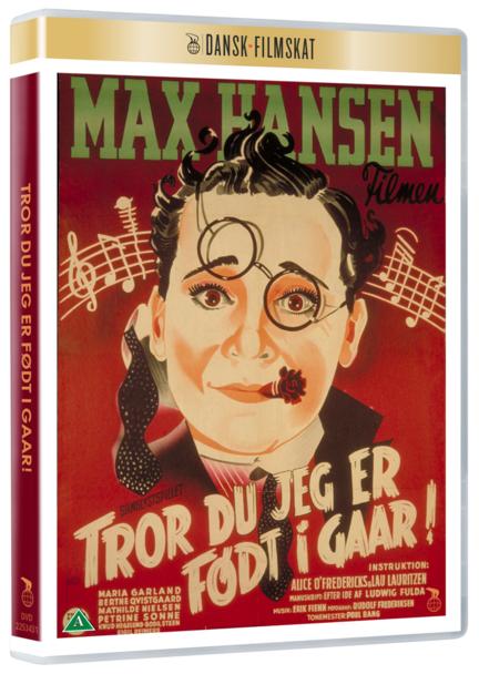 Tror du jeg er født i gaar, Tror du jeg er født i går, Dansk Filmskat, DVD, Film, Movie,