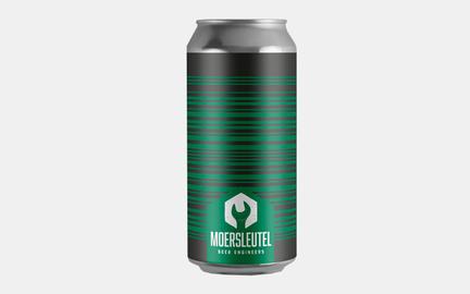 Barcode Black & Green - Barrel Aged Imperial Stout fra Moersleutel