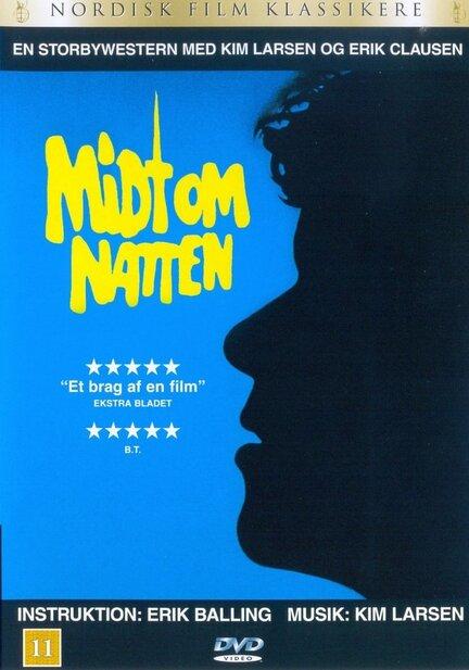 Midt om natten, DVD, Movie, Erik Balling, Ove Sprogø, Kim Larsen, Poul Bundgaard, Buster Larsen, Frits Helmuth, Birgitte Raaberg