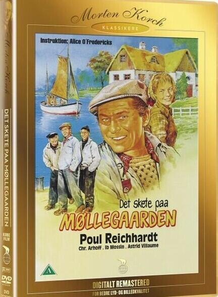Det skete på Møllegaarden, Morten Korchk, DVD Film