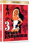 3 slags kærlighed, DVD, Film, Movie, Dansk Filmskat