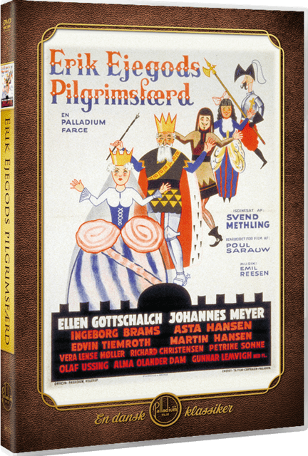 Erik Ejegods Pilgrimsfærd, DVD Film, Palladium