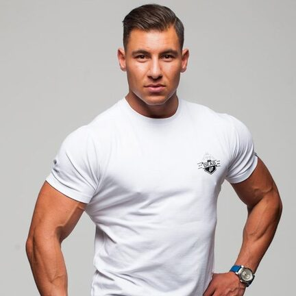 Stony Sportswear, Deadlift, T-Shirts Logo Hvid