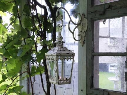 gl. Lanterne m. vægophæng. Fra Chic Antique