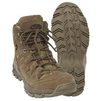 Mil-tec - Squad Boots 5 Tommer (Multicam)