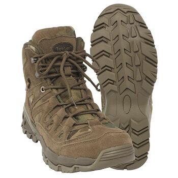 Mil-tec - Squad Boots 5 Tommer (Multicam)