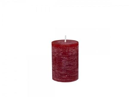 Macon rustik bloklys, mørkerødt
