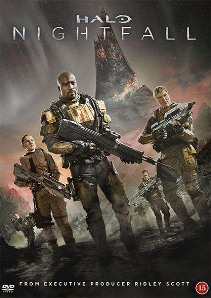 Halo Nightfall, DVD, Movie
