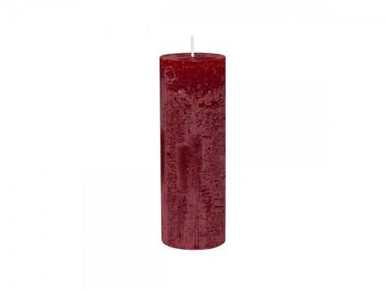 Macon rustik bloklys. mørkrød. 80 timer