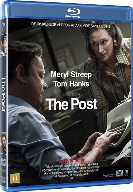 The Post, Steven Spielberg, Bluray, Movie