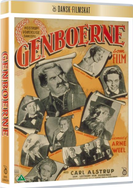 Genboerne, Dansk Filmskat, DVD, Film, Movie