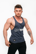"Stony Sportswear, Deadlift, Tank top ""Heavy"" Nayv Blue 2"