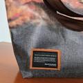 bannerbag, banner bag, bæredygtigt design, unik, taske, Huset Venture Kolding, socialøkonomi, socialt bæredygtigt