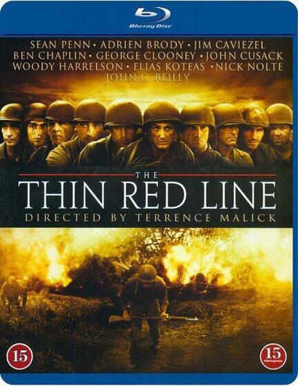 The Thin Red Line, Den tynde røde linie, Bluray, Movie