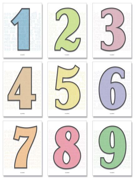 Type numbers set all globe gothic font Klausen design typoart poster plakat art work webshop