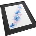 blå maleri 40x50