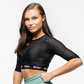 Stony Sportswear, Deadlift, Crop top Mesh Sort 7