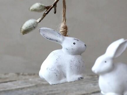 Kanin i træ til ophæng