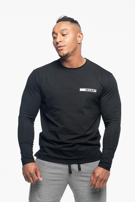 Bolt Langærmet T-shirt Sort